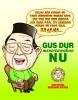 Gus Dur Menertawakan NU